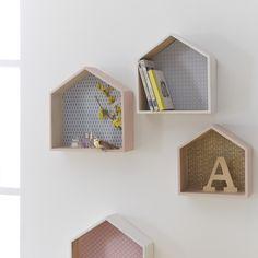 Small Wall Decor, Modern Wall Decor, Woodland Nursery Decor, Childrens Room Decor, Nursery Wall Shelf, Bedroom Wall, Girls Bedroom, Photo Wall Hanging, Deco Kids