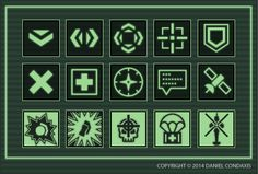 After a bit of a delay due to holidays, preparation for Genericon, and other work, I've added a new set of RTS-based icons in the style of a modern military game. As before, the top two rows are ge...
