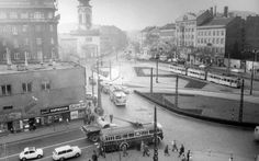 Ilyen is volt Budapest - évek, Kálvin tér Old Pictures, Old Photos, Vintage Photos, Hungary Travel, Budapest Hungary, Historical Photos, Tao, Street View, History