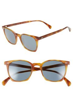 Oliver+Peoples+'L.A.+Coen+Sun'+49mm+Retro+Sunglasses+available+at+#Nordstrom