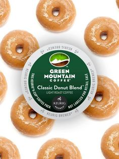 Keurig® Discontinued Items - Our Green Mountain Coffee Classic Donut Blend Cof. - Keurig® Discontinued Items – Our Green Mountain Coffee Classic Donut Blend Coffee is a sincerel - Coffee Creamer, Coffee Cups, Coffee Websites, Donut Store, Cheap Coffee Mugs, Round Wood Coffee Table, Coffee Pack, Green Mountain Coffee, Arabic Coffee