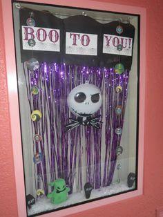 Boo To You Nightmare Before Christmas Disney Resort Window Decorations Pop Century Jack Skellington