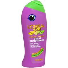 Shop for L'Oreal Kids Extra Gentle Grape Conditioner for Thin To Normal Hair. Get free delivery On EVERYTHING* Overstock - Your Online Beauty Products Shop! Passion Fruit Smoothie, Static Hair, Baby Skin Care, Damp Hair Styles, Fragrance Parfum, Active Ingredient, Loreal, Conditioner, Alcohol