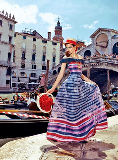 my fascination with venice: zuzanna bijoch by pierpaolo ferrari for vogue japan.