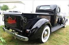 Packard pickup