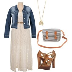 Simple Summer Date Night, created by boswell0617 on Polyvore