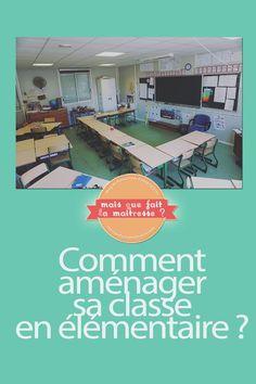Parlons aménagement de classe. #aménagement #classe #élémentaire #école #disposition