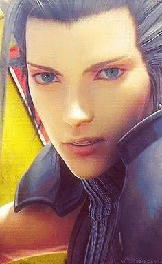 Zack Fair. Final Fantasy VII: Crisis Core.