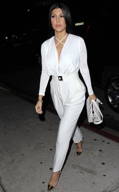 Kourtney Kardashian from The Big Picture: Today's Hot Pics  The reality star leaves The Nice Guy in West Hollywood.
