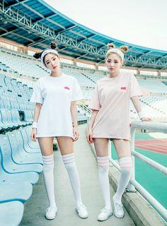 What do you think of Matching outfits Korean Street Fashion, Korea Fashion, Asian Fashion, Cute Fashion, Fashion Outfits, Womens Fashion, Wattpad, Matching Outfits, Cute Outfits