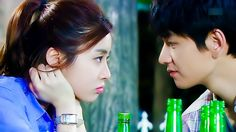 Nothing like Soju to bring the leads closer to each other. ^^ [Drama 2013] Ugly Alert 못난이주의