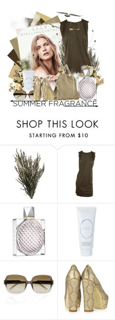"""Summer Fragrance!"" by keti-lady ❤ liked on Polyvore featuring STELLA McCARTNEY, heels, sunglasses, stella mccartney, 2012, summer, handbags and fragrance"