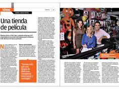 Mariana Ochoa y Érika Zaba, cantantes del grupo OV7, emprendieron en un mercado aún nuevo en México: el de los disfraces premium y hoy son dueñas de su tienda Disfraces de Película. Su caso de éxito está en la revista Entrepreneur de abril 2012.