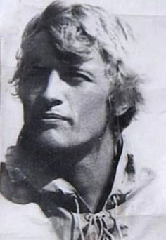 """Rutger Hauer in a still from the film """"Blond Blue Eyes."""" Oh WOW."""