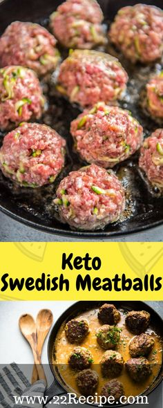 Keto Swedish Meatballs!!! - 22 Recipe