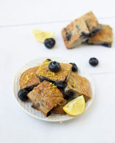 Blueberry Lemon Zest Breakfast Cake ~ Featured From the NEW Bikini Series Edition!