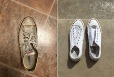 THIS STUDENT'S SHOE-CLEANING TRICK IS WOWING PEOPLE