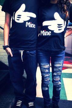 He's mine! (: