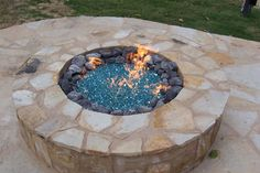 Variation of Fire Pit Glass Rocks Gazebo With Fire Pit, Deck Fire Pit, Fire Pit Wall, Fire Pit Decor, Easy Fire Pit, Small Fire Pit, Modern Fire Pit, Round Fire Pit, Fire Pit Seating