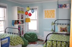 Boys room colorful