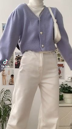 Teen Fashion Outfits, Retro Outfits, Modest Outfits, Cute Casual Outfits, Stylish Outfits, K Fashion, Simple Outfits, Korean Girl Fashion, Korean Street Fashion