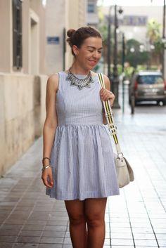 Vestido a Rayas | Trapos | Blog Moda Belleza Valencia #kissmylook