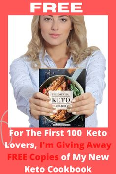 For The First 100 Keto Lovers, I'm Giving Away FREE Copies of My New Keto Cookbook. Enjoy Keto Bread Plus 100 + Other Delicious Keto Recipes! The Critical Keto Cookbook of 100 + Keto recettes for breakfast, snacks, sweets, snacks, and appetizers. For any recipe, net sugars, fat , protein and calorie counting. You will eat such recipes as Fluffy Breakfast Porridge, Spicy Buffalo Wings, Mini Burgers, Jalapeño Corn Bread, Fish Tacos, Snacks and lots more. #keto #ketodiet #ketodietplan #..