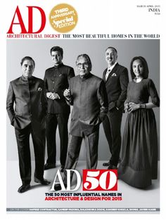Architectural Digest March April 2015 Magazine by Conde Nast India Pvt.