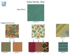New Rowe fabrics and suggested correlates