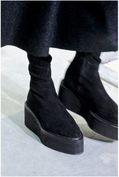 DAMIR DOMA boots ...... I think they're ugly. #sassyboomergirls