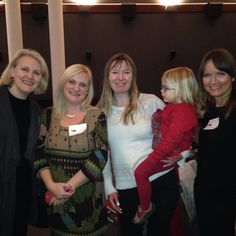 Bloggers at BritMums Christmas Party 2014