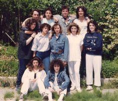 """Allievi, a.s.1988/89. Istituto Statale d'Arte """"Stagio Stagi"""" Pietrasanta."""