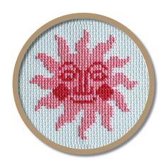 Free sun cross stitch