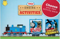 "TOP 100 FREE APPS FOR KIDS - THOMAS & FRIENDS - ENGINE ACTIVITIES  When my boys were younger (sniff!), they LOVED Thomas & Friends. Every birthday and holiday meant a new set or new trains added to their collection.     This app is one that they would have loved (sniff!) had iPads/iPhones been around then - Thomas & Friends: Engine Activities. It's free for the usually ambiguous ""limited time,"" which means download it now because it could go back to not-free at any time!"