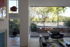 #Living, #Room, #Modern #Architecture Modern Architecture, Architects, Living Rooms, Gardens, Windows, Lounges, Outdoor Gardens, Modernism, Building Homes