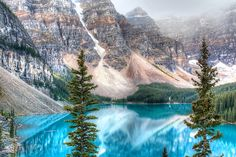 Lake Moraine is one of the most photographed areas in all of Canada! It's situated in the Valley of the Ten Peaks in the Lake Louise area of Banff National Park. The scenery is absolutely…