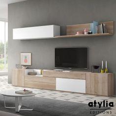 Meuble TV design mural Vamaja ATYLIA Editions