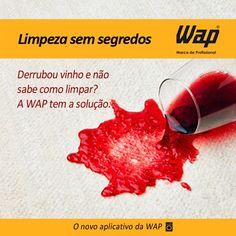 Dica da Flávia Ferrari do @Flávia Ferrari sobre o aplicativo da WAP. Acesse e conheça em https://apps.facebook.com/limpezasemsegredos