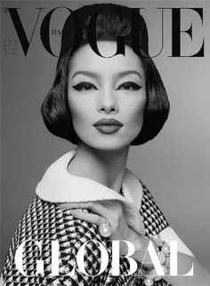 Fei fei sun on the cover of Vogue Russia