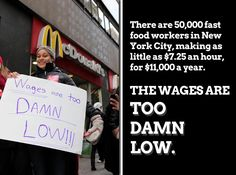 #wagesaretoodamnlow #NYCstrike #solidarity   http://action.sumofus.org/a/fast-food-strike/67/168/?sub=fb