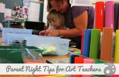 3 Ways to Make Your Room a Must-Stop on Parent Night: By inviting parents and students for an opportunity to make a little art and experience the art classroom, you can go a long way to establishing positive relationships.You never know when you might need them!