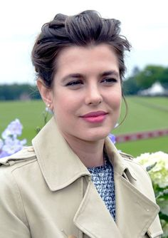 Miss Charlotte Casiraghi, now mother of Raphael