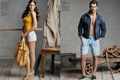 d58a508622c8 Lucky Brand 2013 Early Summer Catalog Collection Chino Shorts