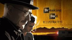 Breaking Bad - Illustrated by Martin Woutisseth.    This illustrates that it's possible to make nice videos even though it's mainly the background that's moving