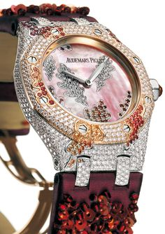 I really like this striking thing Audemars Piguet Rose Gold, Audemars Piguet Watches, Best Looking Watches, Gucci Watch, Limited Edition Watches, Expensive Watches, Luxury Watches, Bracelet Watch, Accessories
