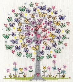 Love Spring Cross Stitch Kit | sewandso