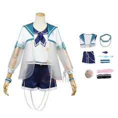 Item Number:gmarn004, Ansel Costume Arknights Cosplay Swimsuit online sale. Buy profession cosplay costumes from cosercos.com Game Costumes, Cosplay Costumes, Mephisto, Cosplay Dress, Womens Size Chart, Online Sales, Long Toes, Headgear, Item Number