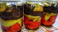 Preserving Food, Preserves, Breakfast, Desserts, Youtube, Canning, Eggplants, Salads, Pickling