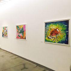 """""""Heweliusz"""" - wystawa w Państwowej Galerii Sztuki w Sopocie (7.10.-8.11.2015) #pgssopot #exhibition #painting #heweliusz #fangor #wojciechfangor #sopot #artgallery"""