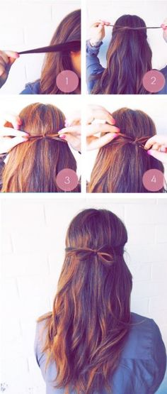 17 Time-Saving Hair Hacks That'll Make Your Life Easier 17 Time-Saving Hair Hacks That'll Make Your Life Easier 15 super-easy hairstyles for super-busy mornings Super Easy Hairstyles, Easy Hairstyles For Medium Hair, Diy Hairstyles, Medium Hair Styles, Short Hair Styles, Instagram Hairstyles, Hair Images, Stylish Hair, Hair Dos